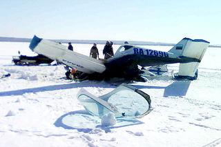 600 X 400  77.1 Kb Легкомоторный самолёт совершил жёсткую посадку в Удмуртии