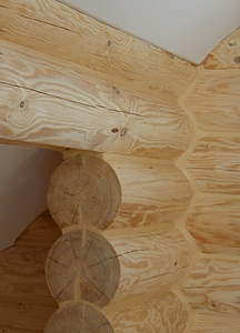 682 X 947 365.1 Kb Отделка деревянных домов: шлифовка,покраска,конопатка,теплый шов (фото).