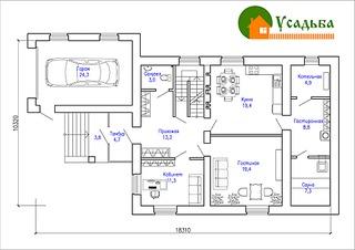 990 X 700 181.6 Kb Проекты уютных загородных домов