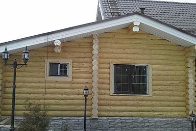 921 X 616 380.8 Kb Отделка деревянных домов: шлифовка,покраска,конопатка,теплый шов (фото).