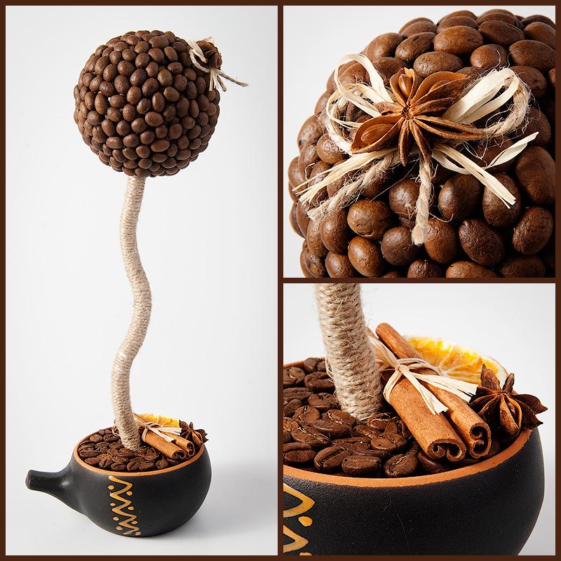 поздравление к подарку кофейное дерево дочка