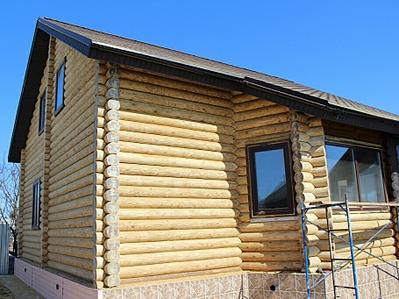 910 X 682 475.2 Kb Отделка деревянных домов: шлифовка,покраска,конопатка,теплый шов (фото).