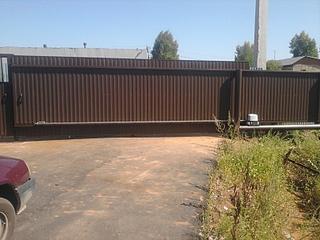 800 X 600 173.7 Kb ворота вЪездные (откатные, распашные, секционные, калитки, фото)