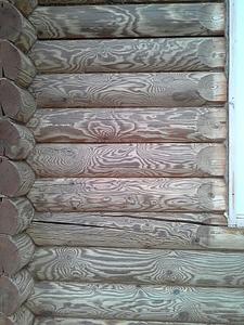 739 X 985 568.2 Kb Отделка деревянных домов: шлифовка,покраска,конопатка,теплый шов (фото).