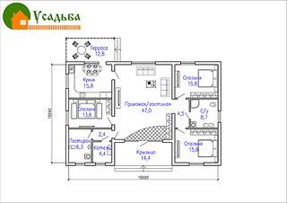 990 X 700 181.4 Kb 1120 X 700 589.1 Kb Проекты уютных загородных домов