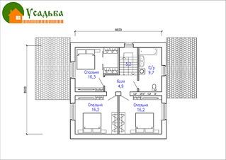 1104 X 781 276.8 Kb 1104 X 781 259.0 Kb Проекты уютных загородных домов