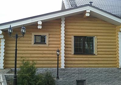 949 X 669 434.4 Kb Отделка деревянных домов: шлифовка,покраска,конопатка,теплый шов (фото).