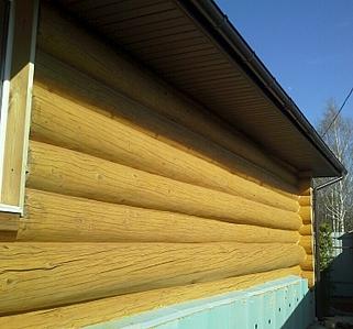 768 X 716 361.4 Kb Отделка деревянных домов: шлифовка,покраска,конопатка,теплый шов (фото).