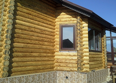 996 X 709 574.0 Kb Отделка деревянных домов: шлифовка,покраска,конопатка,теплый шов (фото).