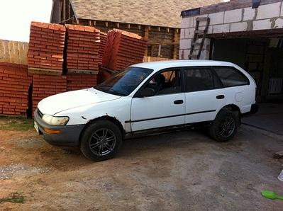 1500 X 1120 606.0 Kb Toyota Sprinter 1991 г. универсал на рессорах (ФОТО) поскорей бы надо продать.
