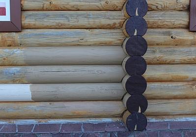 971 X 682 433.3 Kb Отделка деревянных домов: шлифовка,покраска,конопатка,теплый шов (фото).