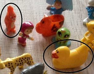 440 X 347 57.1 Kb 'Обмен игрушками из Киндер сюрпризов'