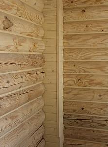 682 X 921 396.8 Kb Отделка деревянных домов: шлифовка,покраска,конопатка,теплый шов (фото).