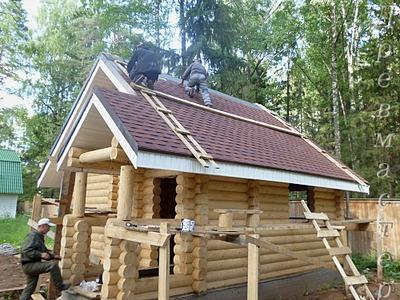 1000 X 750 286.6 Kb Строительство деревянных домов и бань ( фото)