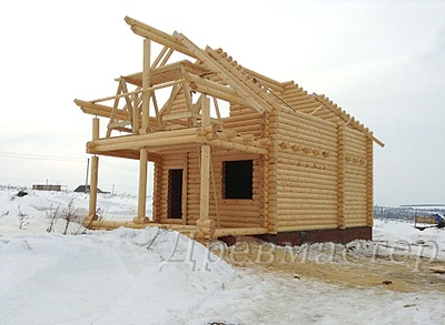 950 X 696 207.9 Kb Строительство деревянных домов и бань ( фото)