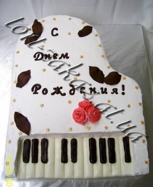 Открытка пианисту с днем рождения, годовщина