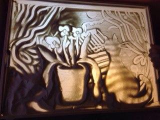 320 x 240 Студия рукоделия 'ЛЮДМИЛА' -13 ИЮЛЯ МК: РИСОВАНИЕ ПЕСКОМ и АКВАРЕЛЬ 'ЦВЕТЫ'