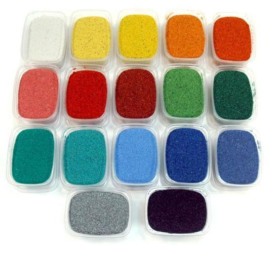 Цветной песок где купить в Ижевск строительная компания трест-5 ооо
