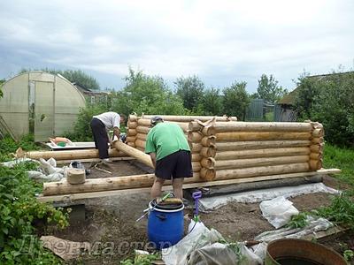 1000 X 750 227.1 Kb Строительство деревянных домов и бань ( фото)