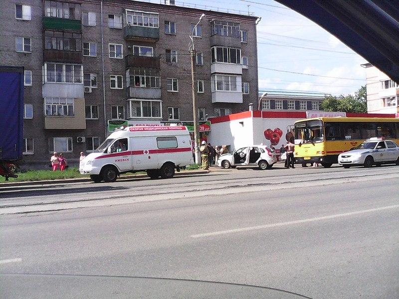 1280 X 960 258.8 Kb 492 x 492 24.07.2014 ДТП на ул. Гагарина, около магазина <Магнит>, авто vs автобус