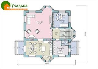 990 X 700 246.8 Kb 990 X 700 212.7 Kb Проекты уютных загородных домов