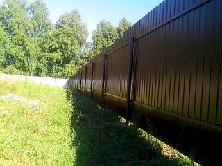 1920 X 1440 426.1 Kb Забор из профнастила