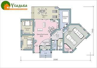990 X 700 228.9 Kb Проекты уютных загородных домов