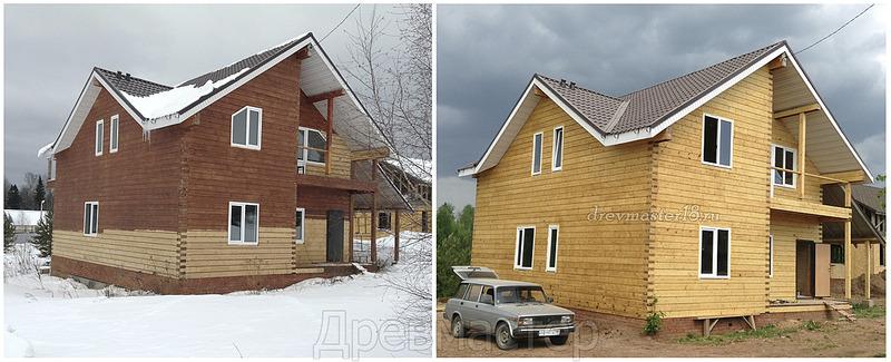 1250 X 508 377.9 Kb Шлифовка,покраска,конопатка, герметизация деревянных домов и бань.