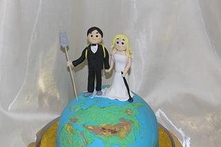 1920 X 1280 417.3 Kb Свадебный торт!