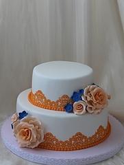 1920 X 2544 144.0 Kb Свадебный торт!