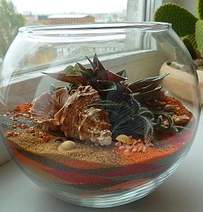 574 X 600 140.6 Kb 574 X 600 138.3 Kb 'Сад в стекле'. Композиции из растений.