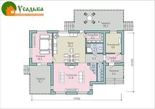 990 X 700 193.6 Kb 990 X 700 246.9 Kb Проекты уютных загородных домов