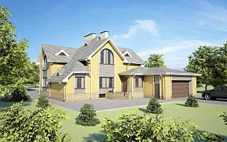 1280 X 800 223.1 Kb Проекты уютных загородных домов