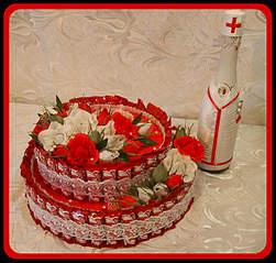 1270 X 1210 668.8 Kb Топиарии, букеты и торты из конфет, РАЗВИВАШКИ , вязание крючком и спицами