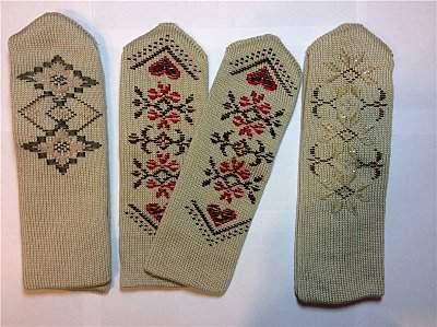 800 X 598 135.8 Kb Варежки с ручной вышивкой. Красивые, теплые, качественные.