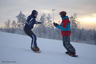 900 X 598 95.3 Kb Обучение техники катания на сноуборде и горных лыжах!