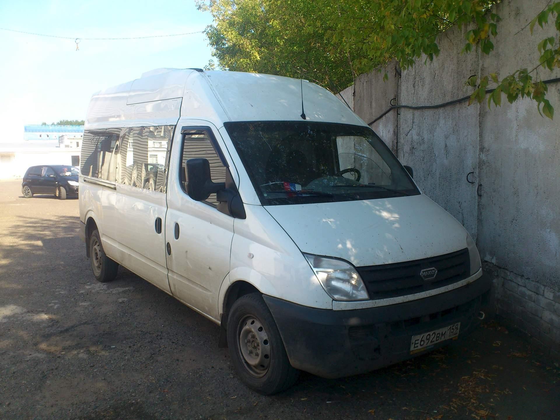 участвует автобус максус фото микроавтобус специальном