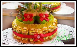 1920 X 1185 997.8 Kb Текстильные барашки, торты из конфет, оформление спиртного, топиарий, РАЗВИВАШКИ