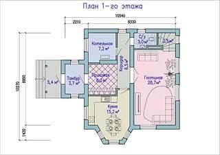990 X 700 253.2 Kb Проекты уютных загородных домов