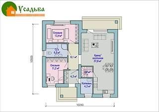 990 X 700 226.9 Kb Проекты уютных загородных домов