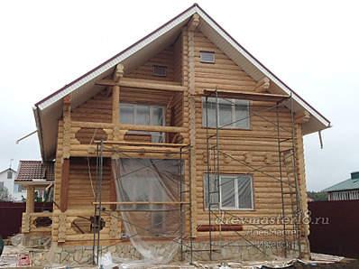 1920 X 1434 666.6 Kb Шлифовка, покраска, конопатка, герметизация деревянных домов и бань от профессионалов