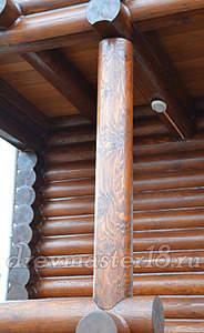 500 X 814 268.1 Kb 570 X 855 257.7 Kb Шлифовка, покраска, конопатка, герметизация деревянных домов и бань от профессионалов