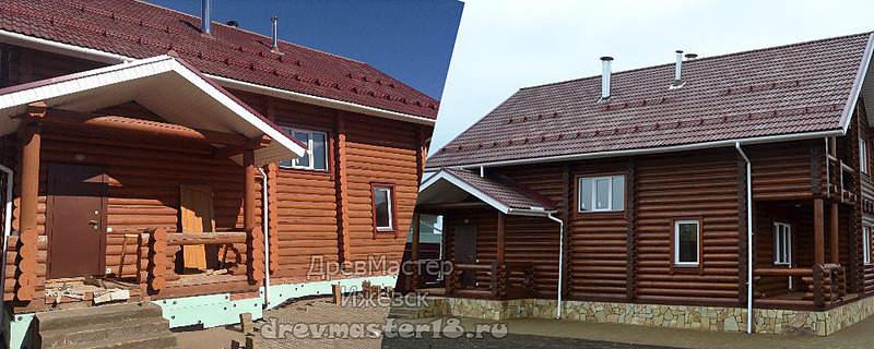 1000 X 400 259.8 Kb Шлифовка, покраска, конопатка, герметизация деревянных домов и бань от профессионалов