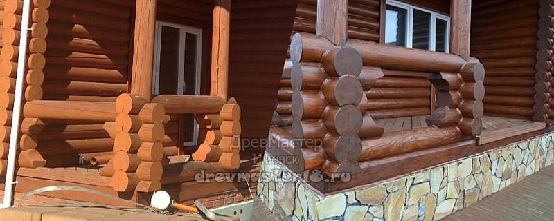1000 X 400 242.5 Kb Шлифовка, покраска, конопатка, герметизация деревянных домов и бань от профессионалов