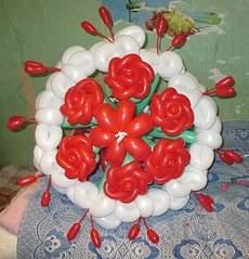 406 X 422 48.9 Kb РАДУГА ШАРОВ *подарки из воздушных шариков*