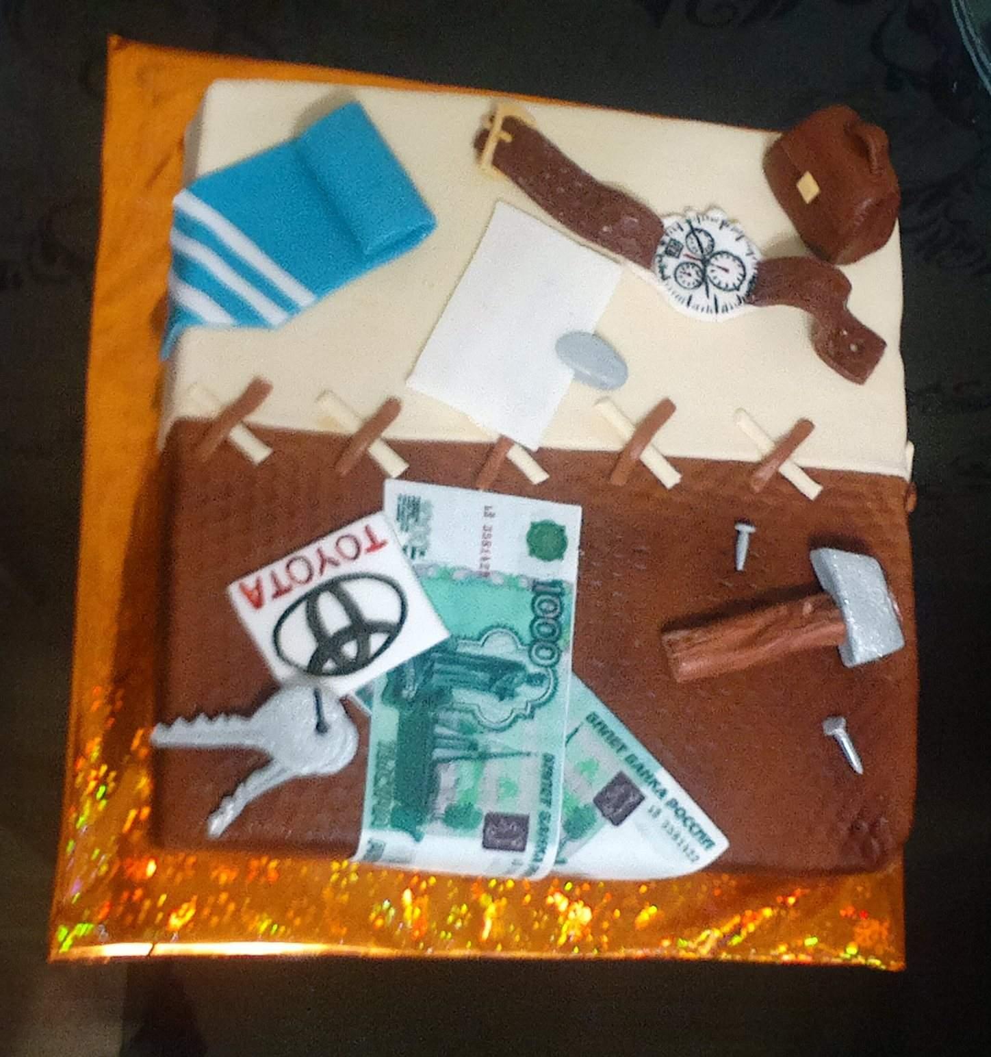 Торт шоколадно-смородиновый фото 1