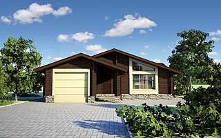 1280 X 800 208.7 Kb Проекты уютных загородных домов