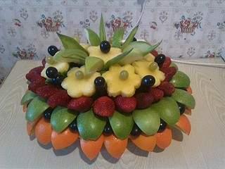 1920 X 1440 665.1 Kb Букеты из конфет, фруктовые букеты, композиции с живыми цветами, топиарии
