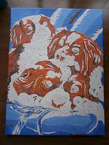 1920 X 2560 599.9 Kb Кавалер-кинг-чарльз-спаниель. Собака, создающая комфорт. Питомник Auroconcurr.