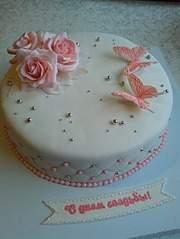 453 X 604  52.3 Kb Свадебный торт!